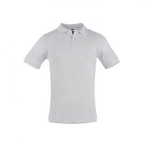 MEN'S POLO SHIRT ADAM WHITE