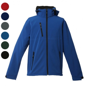 MEN'S HOODED SOFTSHELL ZAGREB