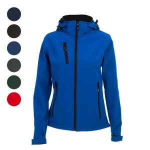 WOMEN'S HOODED SOFTSHELL ZAGREB WOMEN