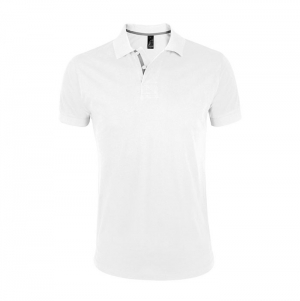 MEN'S POLO SHIRT PORTLAND WHITE