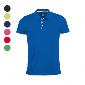 MEN'S SPORTS POLO SHIRT PERFORMER MEN COLORS