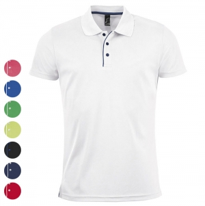MEN'S SPORTS POLO SHIRT PERFORMER MEN WHITE