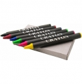 6 PCS WAX CRAYONS