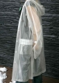 15MM PVC TRANSPARENT RAIN COAT, ONE SIZE