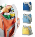 COOLER BAG WITH FRONT POCKET   ZIPPER