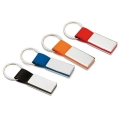 PU AND METAL KEY RING   RECTANGLO