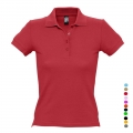 WOMEN'S POLO SHIRT PEOPLE COLORS