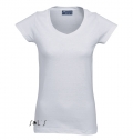 WOMEN'S T-SHIRT MOON WHITE