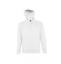 UNISEX HOODED SWEAT-SHIRT SLAM WHITE