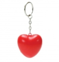 PU ANTI STRESS HEART WITH KEY RING