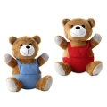 BEAR PLUSH W/ ADVERTISING PANTS