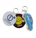 LARGEEVA KEY HOLDER / KEYCHAIN4 COLORS 2 SIDES