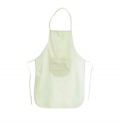 100% COTTON APRON WITH FRONT POCKET