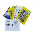 FLYERS 9X13CM 100GRS 1 FACE - FULL COLOR