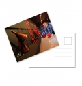 MINI POSTCARDS 300GRS 135X95MM 4 COLORS 1 SIDE + BLACK PRINT