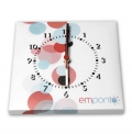 WALL CLOCK FULL COLOR PRINT