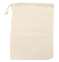 100% COTTON BAG NATURAL WITH CORD