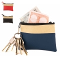 P-600D AND PVC COIN PURSE WITH KEY RING