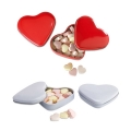 HEART TIN BOX WITH CANDIES