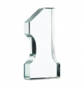 NUMBER ONE GLASS TROPHY