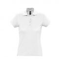 WOMEN'S POLO SHIRT PASSION WHITE