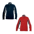 MEN'S BICOLOR  ZIPPED FLEECE JACKET NORDIC