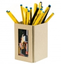 FOLDABLE PEN HOLDER WITH PHOTO FRAME