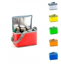COOLER BAG FOR 6 CANS, NONWOVEN 80 G