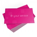 BUSINESS CARD WITH PLASTIC 240GRS FULL COLOR PRINT 1 SIDE