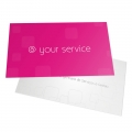 BUSINESS CARD WITH PLASTIC 240GRS FULL COLOR PRINT 1 SIDES