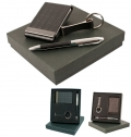 GIFT SET INCLUDING KEY RING, CARDHOLDER AND BALL PEN