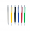 PLASTIC BALL PEN, WITH BRILLIANT FINISHING
