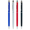 PLASTIC TOUCH SCREEN PEN, WITH METAL CLIP