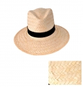 MEN WHITE STRAW HAT