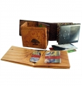 SET PURSE AND CARD HOLDER ON TYVEK, FULL COLOR PRINT