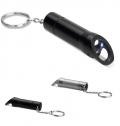 METAL TORCH KEY RING