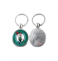 1 SIDE BASKETBALL KEY CHAIN (Ø30MM)
