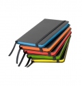 HARDCOVER NOTEBOOK WITH SIDE COLOURED PAGES