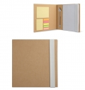 NOTEBOOK W/ STICKYNOTES & PEN