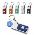 KEY HOLDER WITH COIN (€0.50)