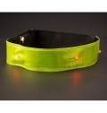 NYLON (500D) AND PVC REFLECTIVE STRAP WITH LIGHTS
