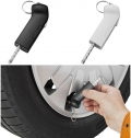 HANDI TIRE GAUGE AND KEY LIGHT