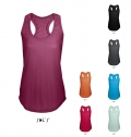 WOMEN'S RACER BACK TANK TOP MOKA COLORS