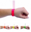 1-TIME USE FLUORESCENT VINYL WRISTBAND