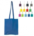 100% COTTON BAG, WITH LONG HANDLES