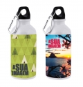 ALUMINIUM DRINKING BOTTLE, 400ML FOR SUBLIMATION WITH C