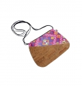 WOMEN MINI BAG ON TYVEK + CORK, PRINTING INC