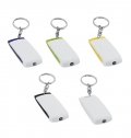 PLASTIC KEY RING WITH 1 LED LIGHT