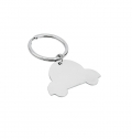 STAINLESS STEEL KEY RING CAR
