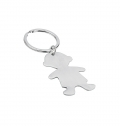 STAINLESS STEEL KEY RING BOY